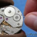 Made in Japanの腕時計 裏を見れば…