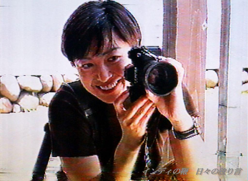 「織作峰子の写真術」録画ビデオからの静止画