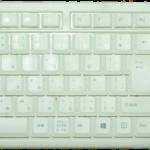 パンタグラフのキーボード